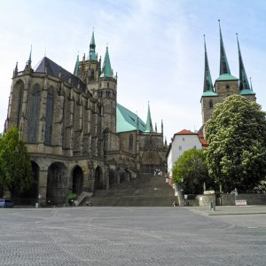 Erfurt - Dom St. Marien und Kirche St. Severi